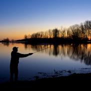 Première pêche du printemps
