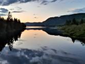Michel Boucher - Coucher de soleil - Lac Monroe - PN Mont Tremblant