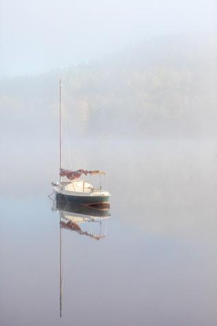 yves-geoffrion - Matin calme sur la rivière